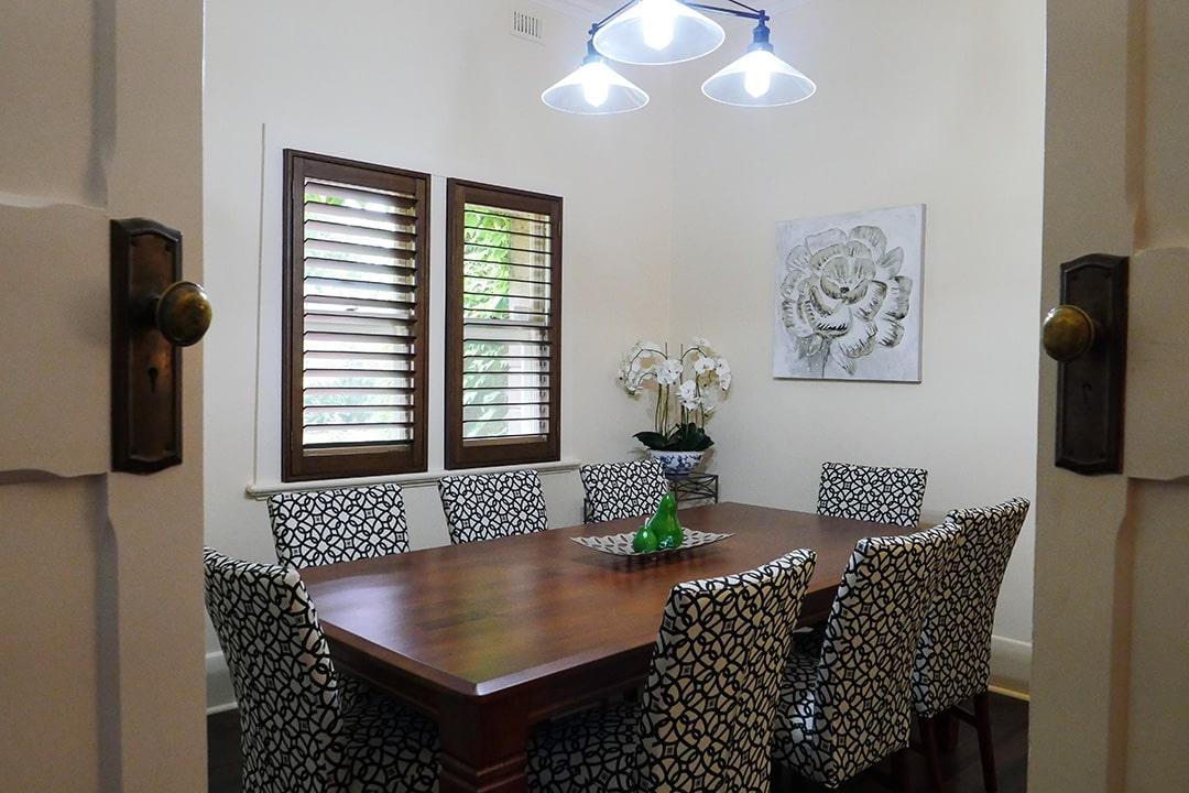 Wilsford House - dining room