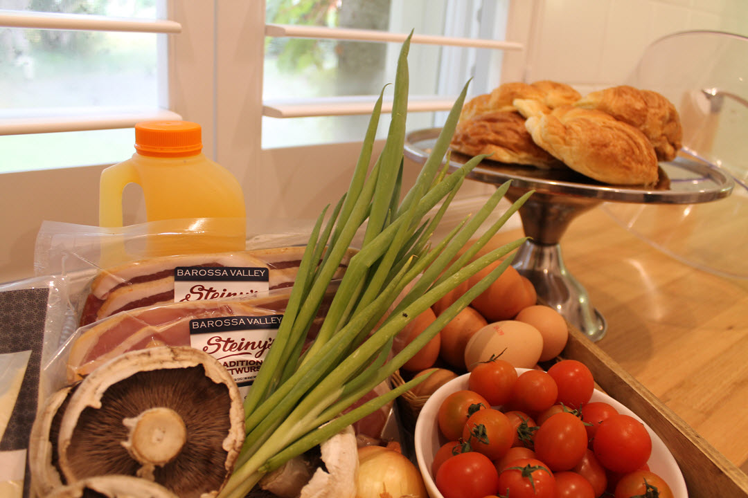 Breakfast provision - Wilsford House Barossa Valley